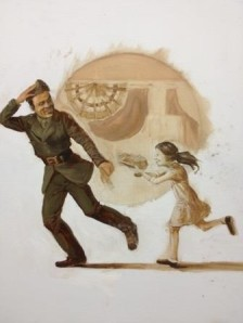 Girl Chases Soldier